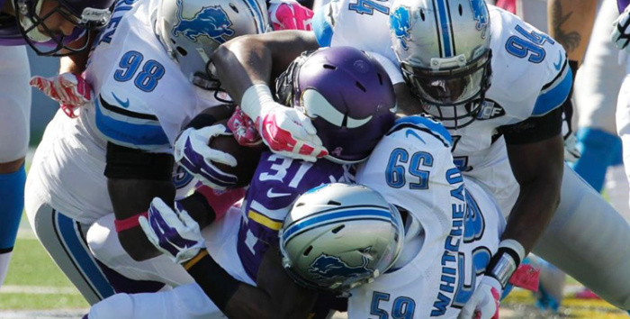 RegularSeason Game6, Lions-Vikings1